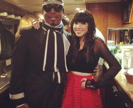 Carly Rae Jepsen and MC Hammer