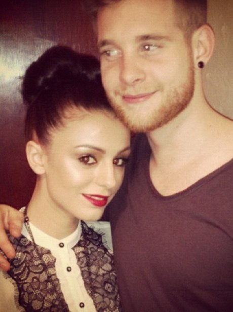 Cher Lloyd Poses With Her Fiance Craig Monk Over Christmas Twitter