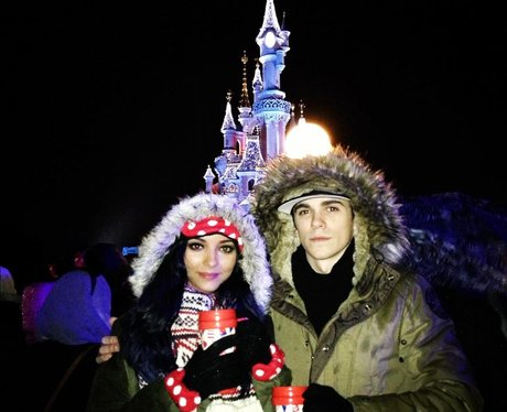 Jade from Little Mix with her boyfriend