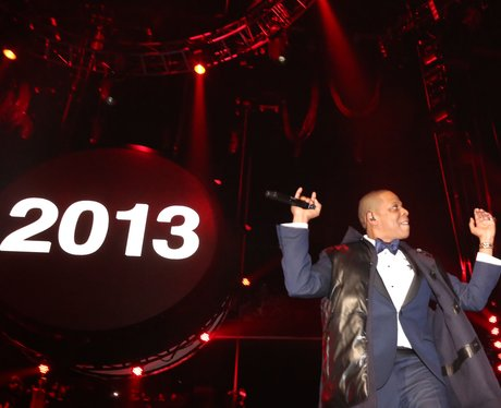 Jay Z performs at Barclays Center on New Years eve