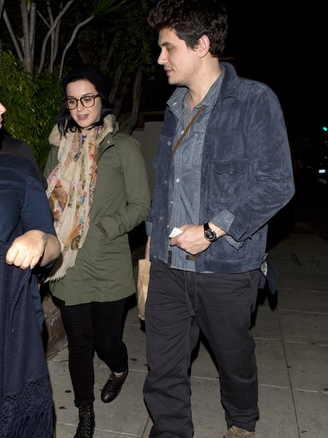 Katy Perry and John Mayer dine out in California