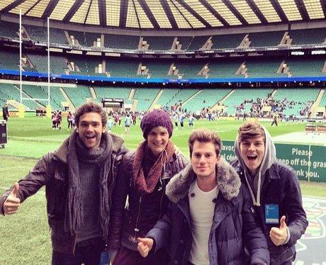 Lawson at Wembley Stadium
