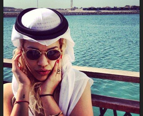 Rita Ora in Dubai