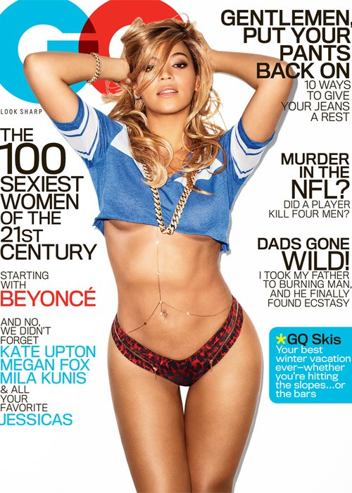 Beyonce GQ magazine cover