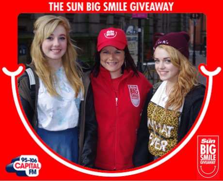 Big Smile Giveaway, Birmingham