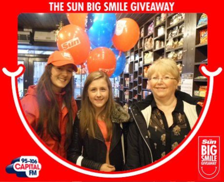 Big Smile Giveaway, Bolton
