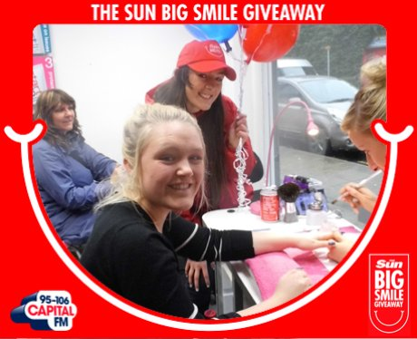 Big Smile Giveaway, Bolton