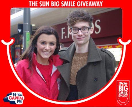 Big Smile Giveaway, Darlington