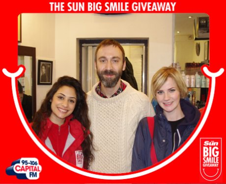 Big Smile Giveaway, London