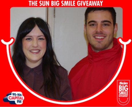 Big Smile Giveaway, Newcastle