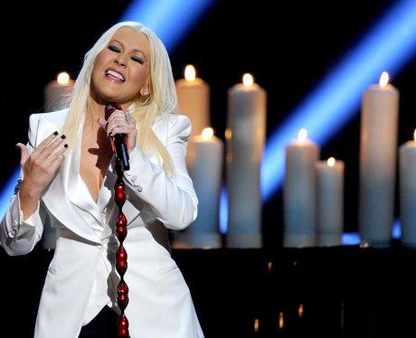 Christina Aguilera People's Choice Awards 2013