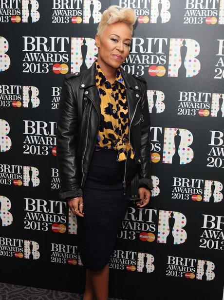 Emeli Sande BRIT Nominations 2013