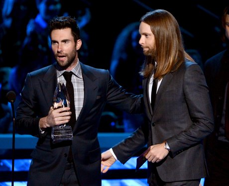 Maroon 5 at the People's Choice Awards 2013
