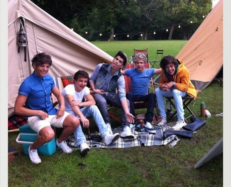 One Direction in their 'Live While We're Young' Music Video