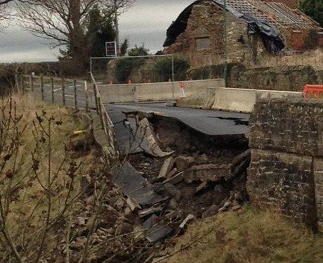 Ovington Bridge Collapse