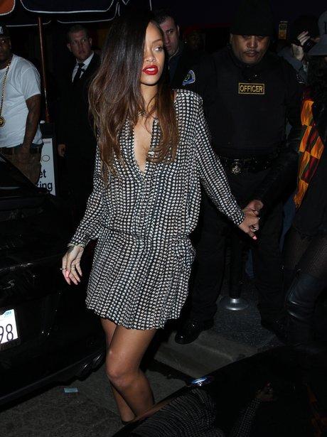 Rihanna with long hair
