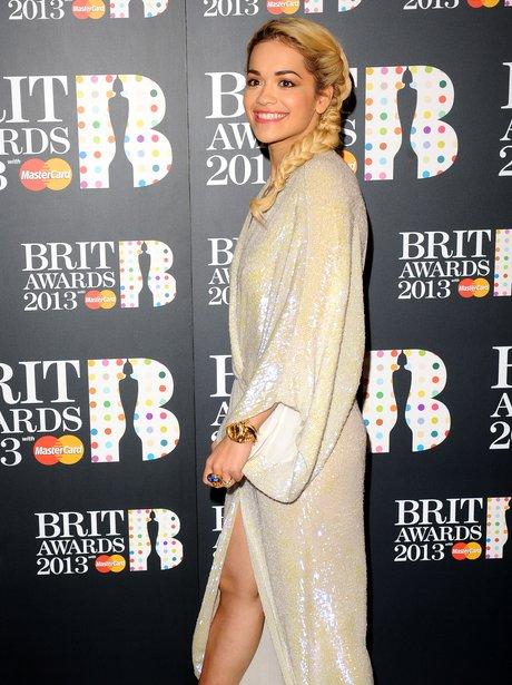Rita Ora BRIT Awards Nominations 2013