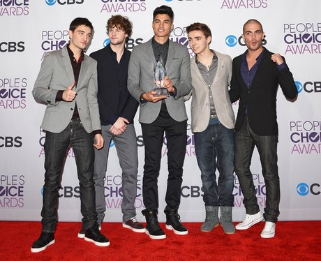 The Wanted at the People's Choice Awards 2013