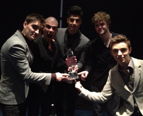 The Wanted At People's Choice Awards 2013