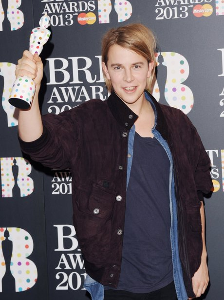 Tom Odell The BRITS Award Nominations 2013