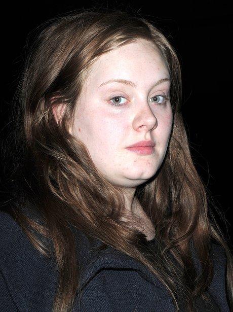 Adele wearing no make-up