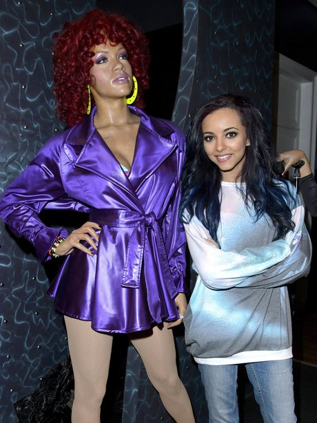 Jade Thirwall and Rihanna Wax Work