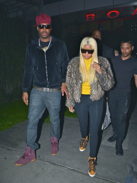 Nicki Minaj reunites with her ex boyfriend Safaree