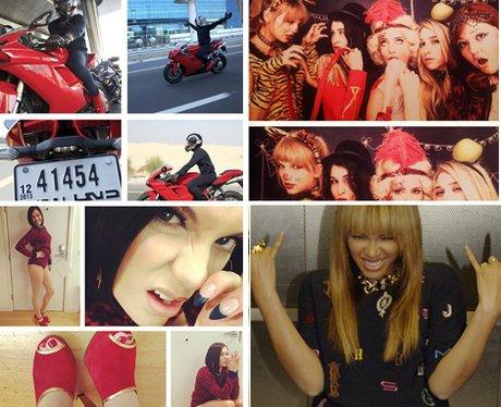Pop Stars Split Screen Photos