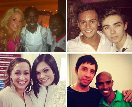 Pop Stars With Olympians