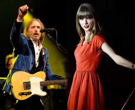 Taylor Swift and Tom Petty