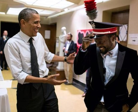 Will.i.am and Obama