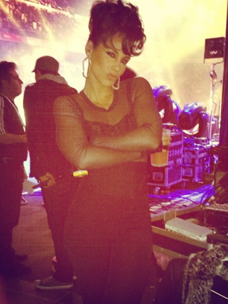 Alicia Keys in Madrid