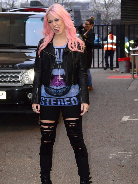 Amelia Lily pictured in London