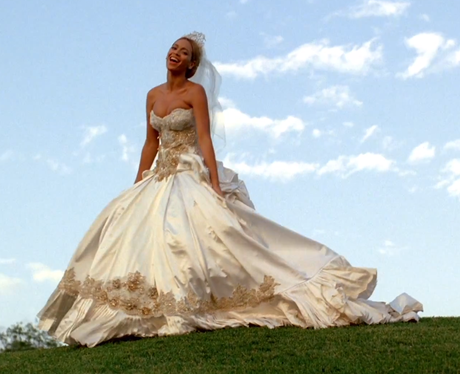 Although This Isn T Her Actual Wedding Dress Beyonce Wore This