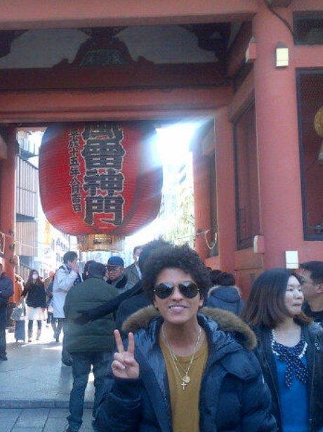 Bruno Mars in Japan