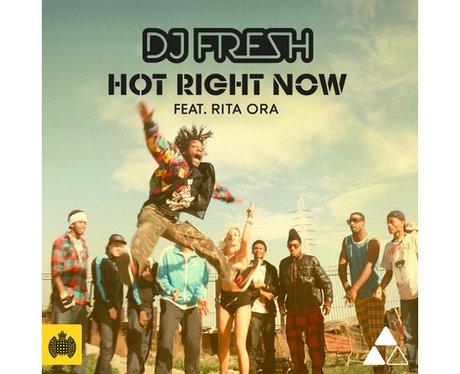DJ Fresh's 'Hot Right Now' single artwork