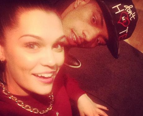 Jessie J smiling with Fazer