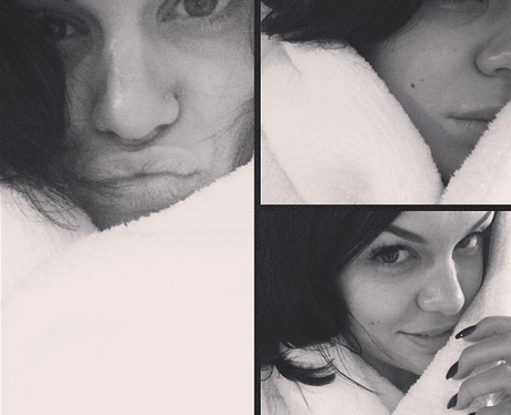 Jessie J with no make up on