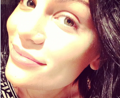 Jessie J wearing no makeup