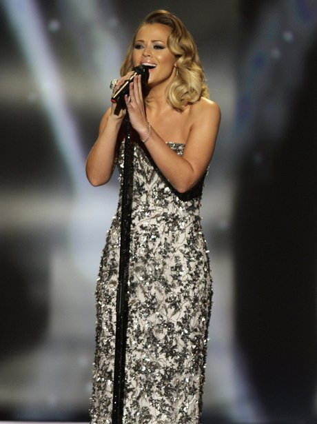 Kimberley Walsh performs during the 2013 National Television Awards
