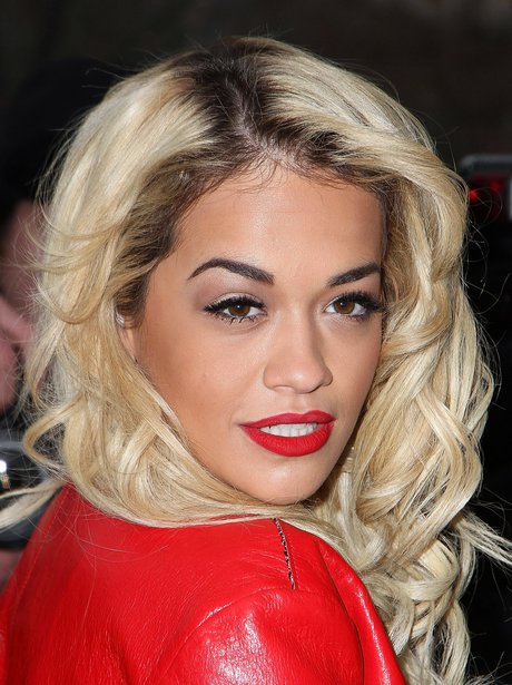 Rita Ora at Paris Fashion Week in 2013
