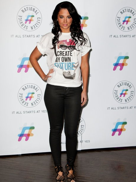 Tulisa At The National Citizens Service 2013