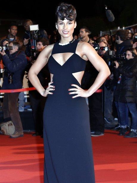 Alicia Keys attends the NRJ Music Awards 2013