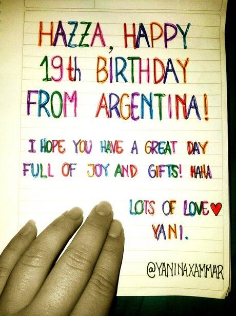 From Yaninaxammar One Directions Harry Styles 19th Birthday