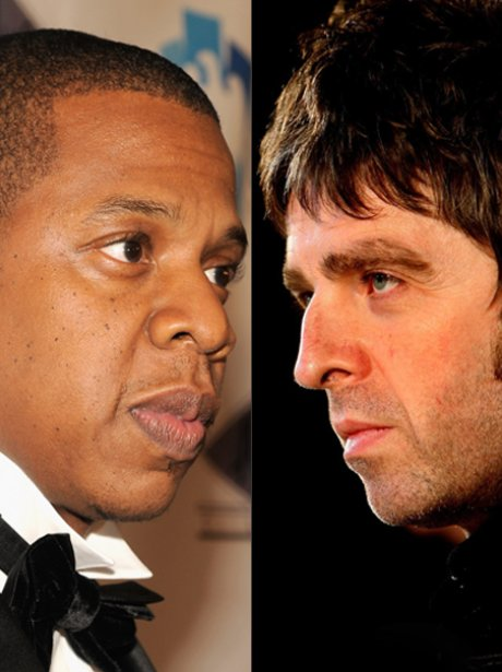 Jay-Z and Noel Gallagher