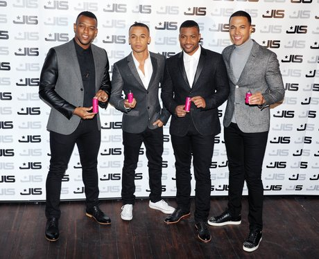 JLS at their perfume launch