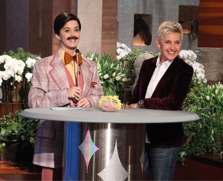 Katy Perry on the Ellen Show 2013