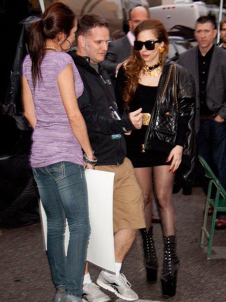 Lady Gaga meets fans in Las Vegas