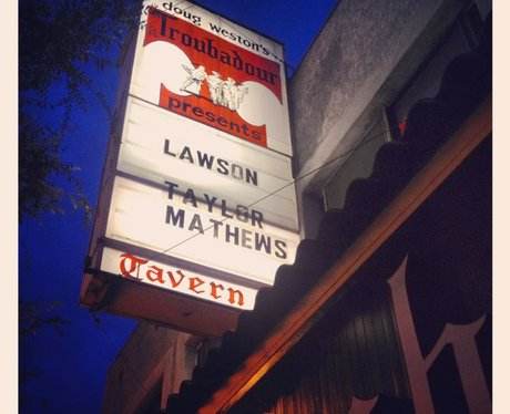 The venue for Lawson's first ever live US show
