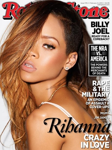Rihanna covers the new issue of Rolling Stone magazine